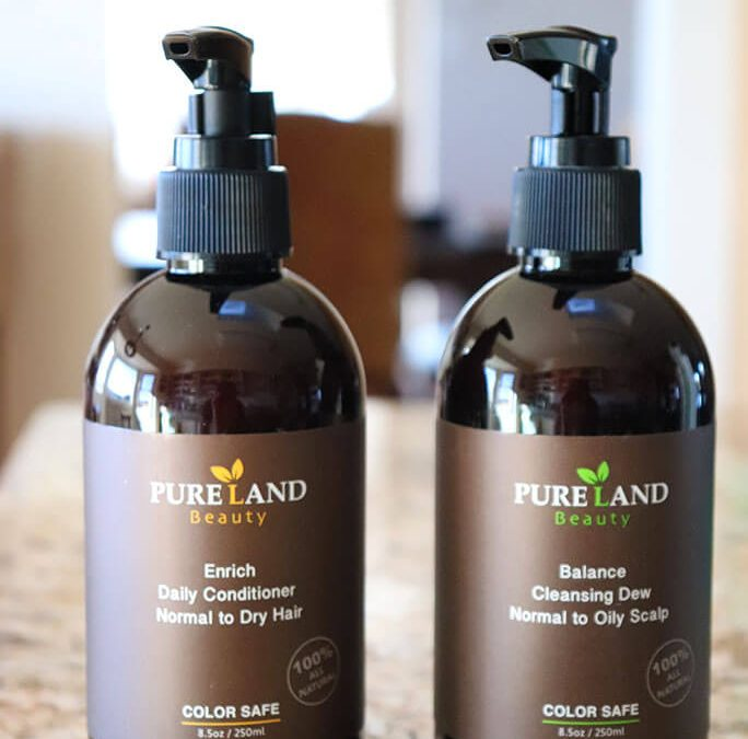 100% Plant Based Hair Products with Pureland Beauty